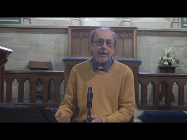 Palm Sunday talk: 'God is not finished yet'