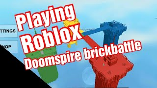 Playing doomispire brickbattle!!! (Roblox)
