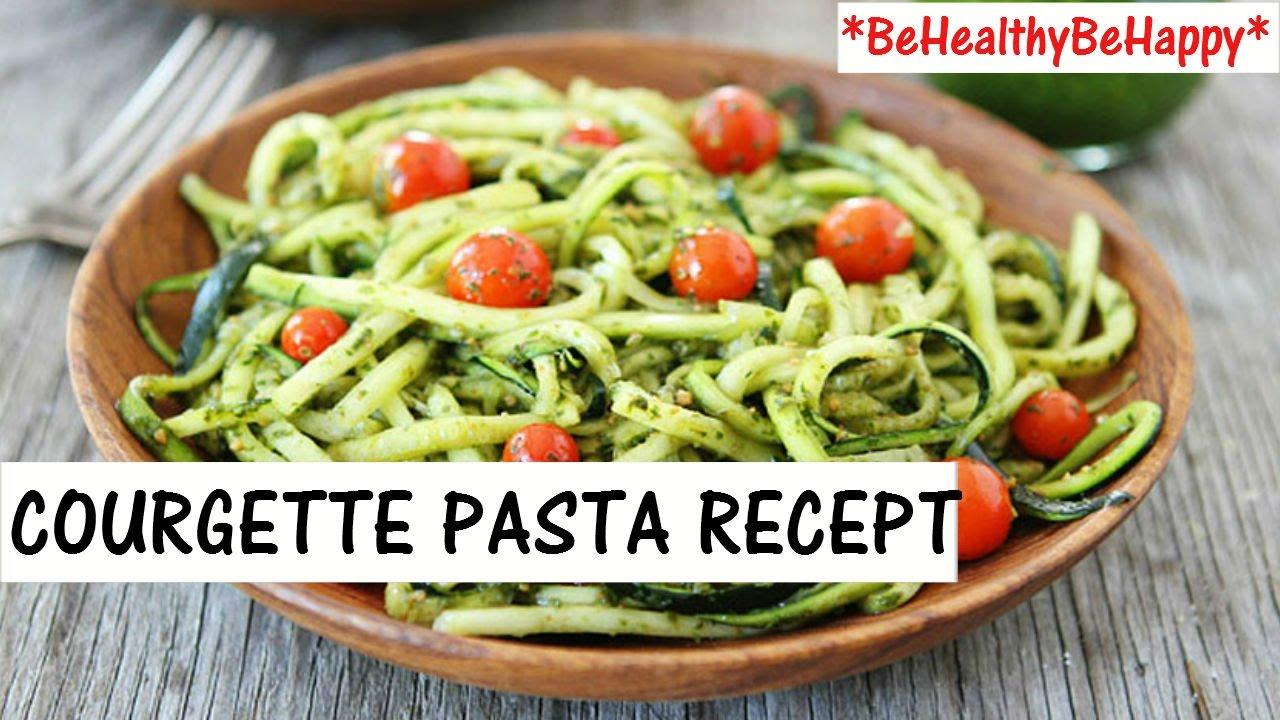 courgettepasta recept