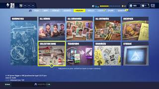 Fortnite STW Account reset *EVERYTHING MISSING* please Epic watch