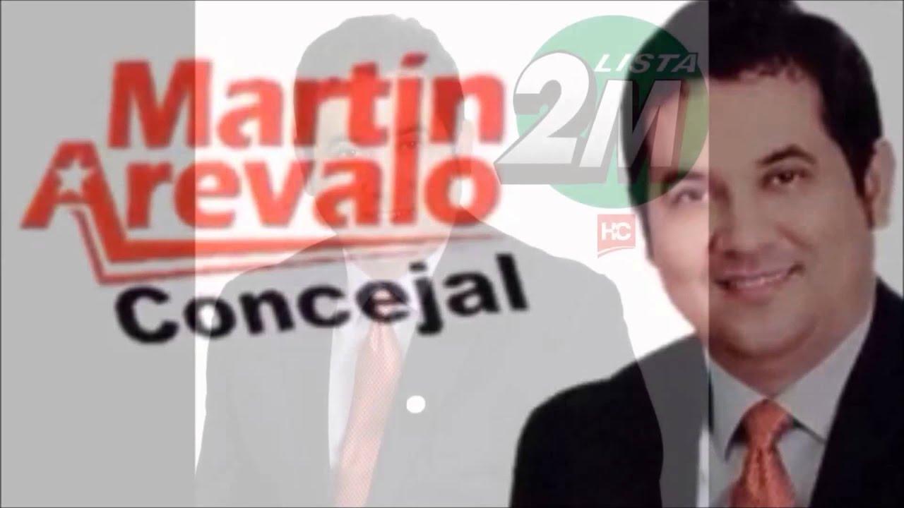 MARTIN AREVALO CONCEJAL DE ASUNCION LISTA 2M - YouTube