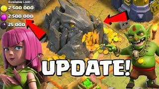 NEW GOBLIN MAPS!  UPDATE SNEAK PEEK #3 Halloween 2018 Clan War Leagues Clash of Clans