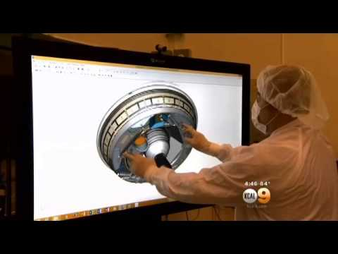 NASA Flying Saucer Destined for Mars