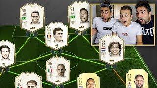 😱 QUANTE ICONEE!!! - ICON DRAFT CHALLENGE FIFA 20 w/Elites