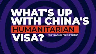 The End of China's Humanitarian T Visa?