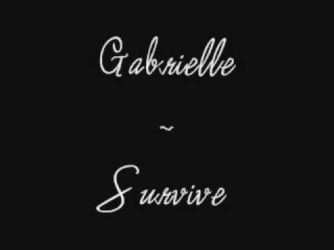 Gabrielle - Survive (+LYRICS)