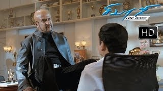 Sivaji (சிவாஜி)- Mottai Boss confronts Adiseshan