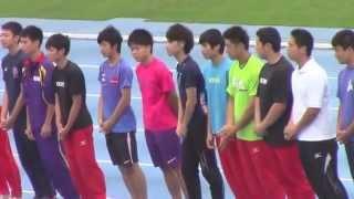 2014インターハイ陸上 東京都代表出場者壮行会