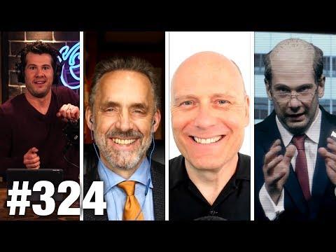 #324 STORMY DANIELS WINS TRUMP WAR?? Jordan Peterson and Stefan Molyneux Guest | Louder With Crowder