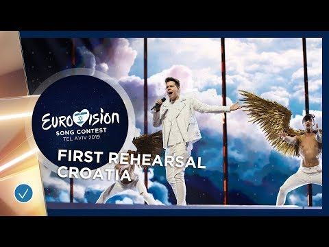Croatia 🇭🇷 - Roko - The Dream - First Rehearsal - Eurovision 2019