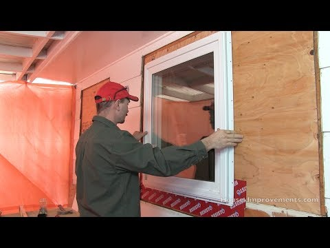 How To Install a Window with a Nailing Flange