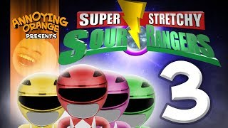 Annoying Orange - Sour Rangers #3: Disaster at Comic-Corn!