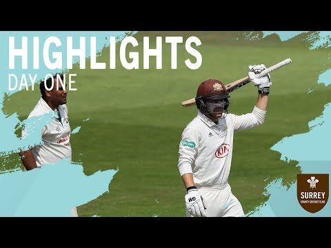 Highlights: Nottinghamshire v Surrey - Day One