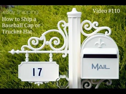 EBay Shipping - How To Ship A BaseBall Cap Or Trucker Hat