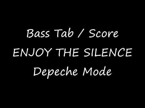 Depeche Mode - Enjoy The Silence (BASS TAB / SCORE)