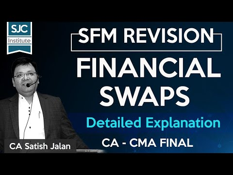 CA/CMA/CS Final SFM - Financial Swaps - The Central theme -by Satish Jalan Sir