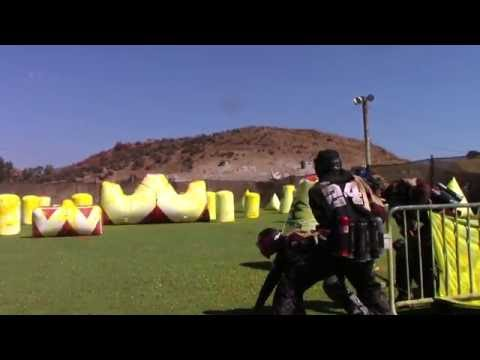 Outlaws D5 at UPL Regional Jungle Island Paintball Park