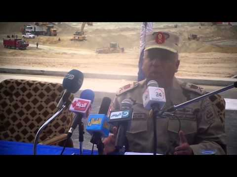 ew Suez Canal: drilling documentary film scenes in December 2014