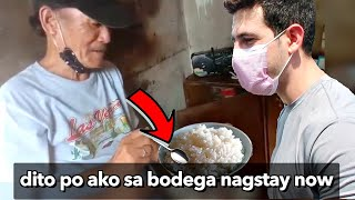 "Helping Security Guards Eating ""KANIN ONLY"" 😢 (10,000 Ayuda Segment)"
