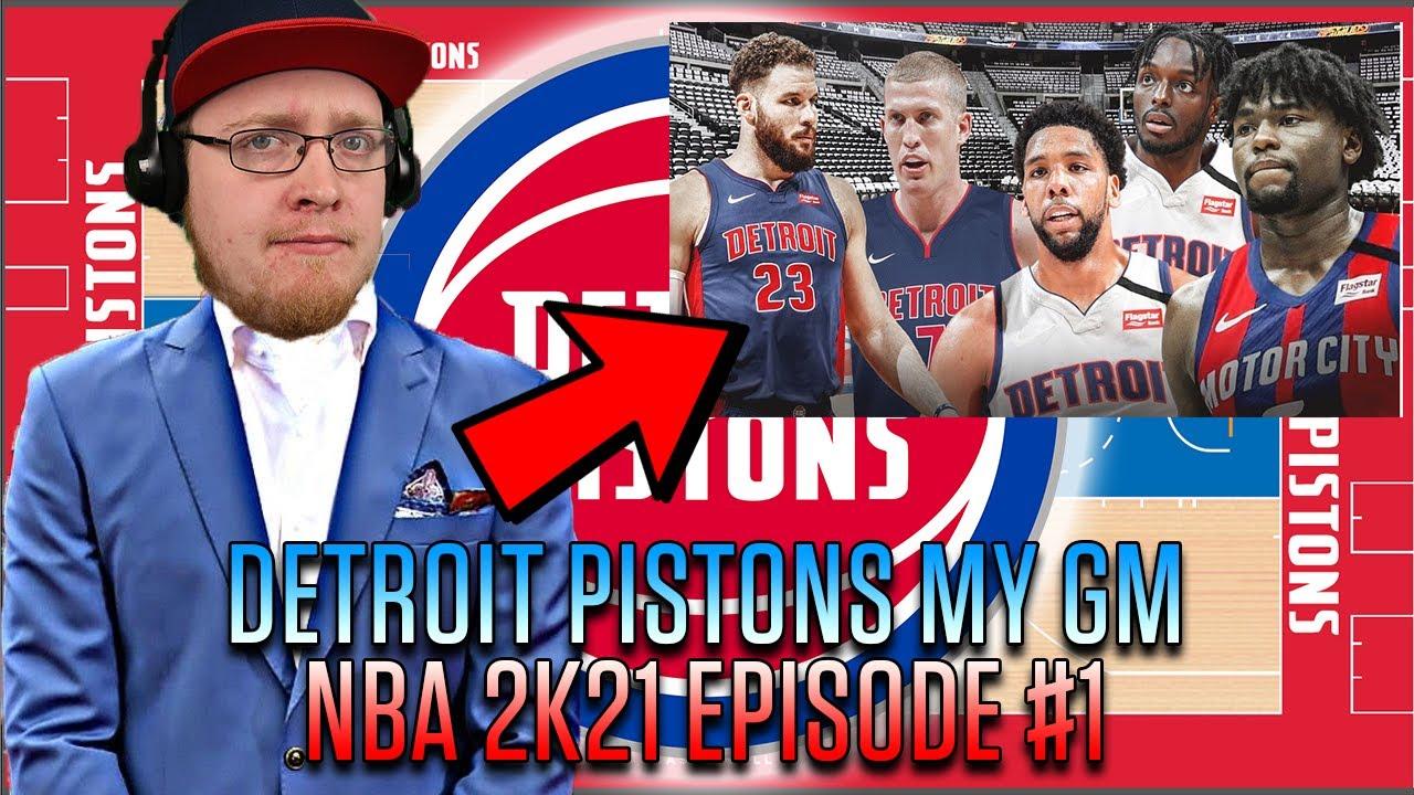 Download DETROIT PISTONS NBA 2K21 MYGM SERIES - EPISODE #1
