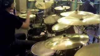 陰陽座onmyouza 妖花忍法帖youka ninnpouchou Drum cover by GUdrum pro...