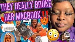 FUNNY MIKE JAY AND BAM BROKE MY MAMA LAPTOP!  MUST WATCH‼️🤭😳