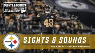 Sights & Sounds from Dominant Win vs. Panthers | Pittsburgh Steelers