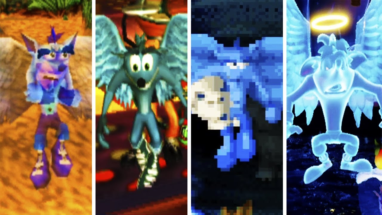 Evolution of Crash Bandicoot Angel (1997-2020)