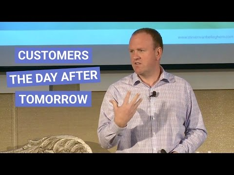 Customers the day after tomorrow: Full keynote Steven Van Belleghem (in San Francisco)