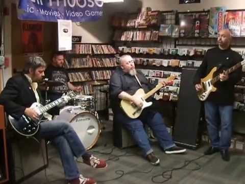 Pugwash Keep Movin' On  @ Bull Moose Music in store Portland ME 10/10/14