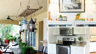 🌸 5 DIY Rustic Home Decor Ideas for Rentals: Decorating the House with Simple Projects 🌸