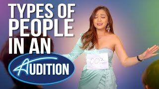 Types Of People In An Audition
