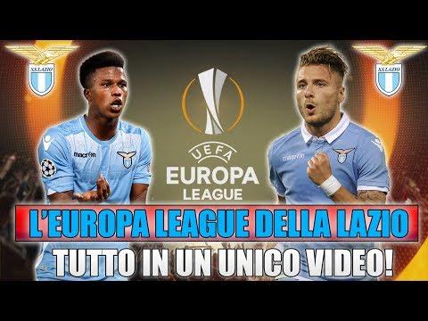 TUTTA L'EUROPA LEAGUE DELLA LAZIO IN UN UNICO VIDEO!! [By Giuse360]