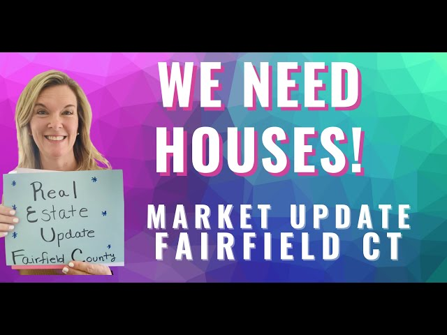 Real Estate Market Update March 2021 Fairfield CT | We Need Inventory | #shorts