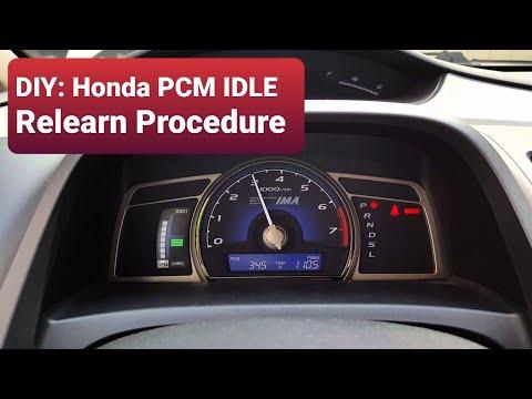 DIY: Honda PCM IDLE Relearn Procedure on a Honda Civic - Лучшие