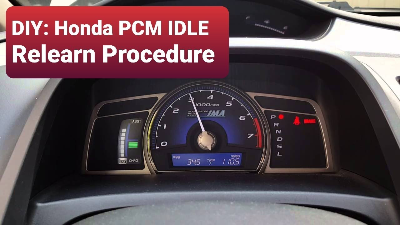 diy honda pcm idle relearn procedure   honda civic