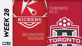 Richmond Kickers vs. Toronto FC II: October 2nd, 2019
