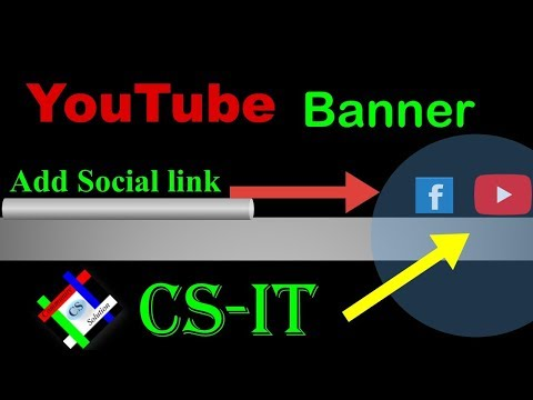 Add Social links and website on your youtube channel in Bangla 2018