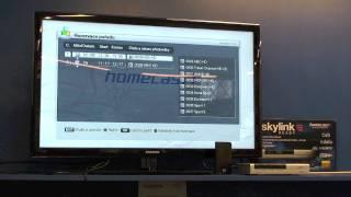HOMECAST HS 3200 CIIR - nahrávání záznamu na externí HDD
