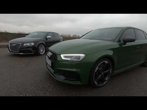 6 й километр.Две Audi RS3 Lexus IS F Subaru Forester Audi A5 Hyundai Santa Fe Одесса Драгрейсинг