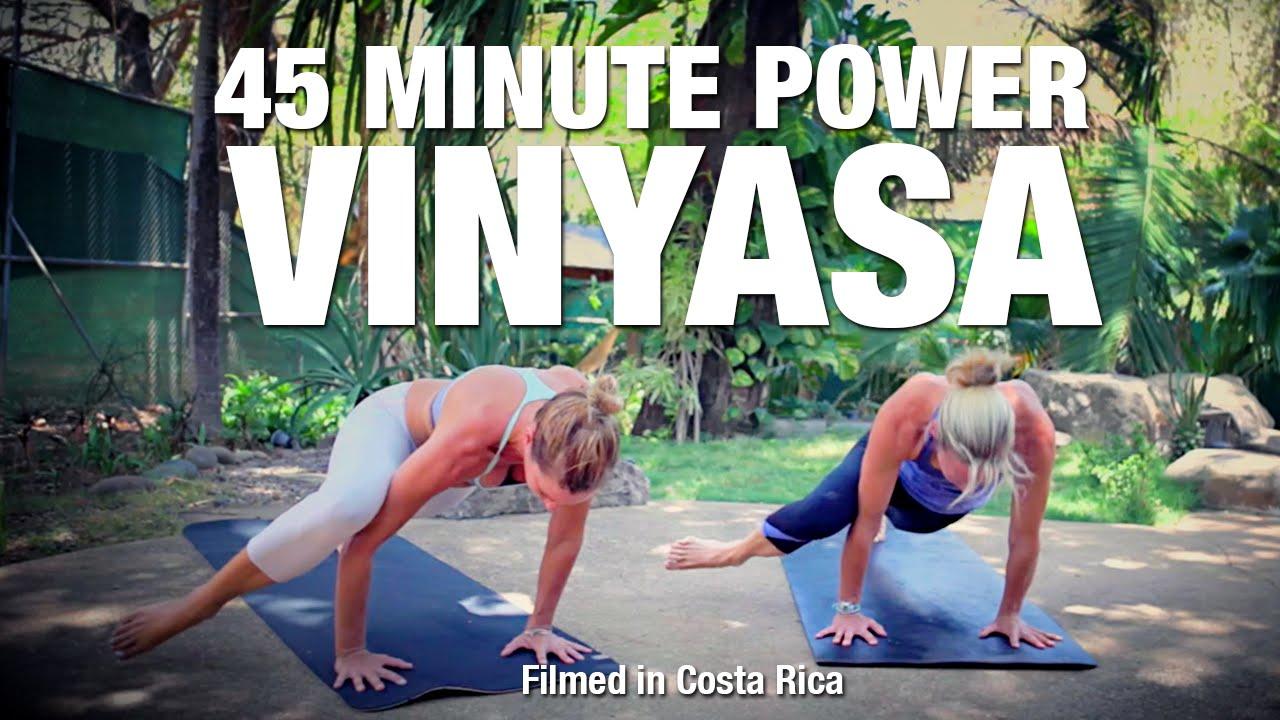 45 Minute Power Vinyasa Flow Yoga Class - Five Parks Yoga ...