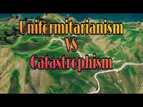 Uniformitarianism || Catastrophism || esabaq