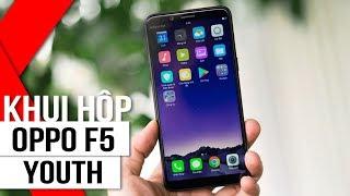 FPT Shop - Khui hộp và trên tay OPPO F5 Youth: Smartphone màn hình tràn viền giá tốt nhất