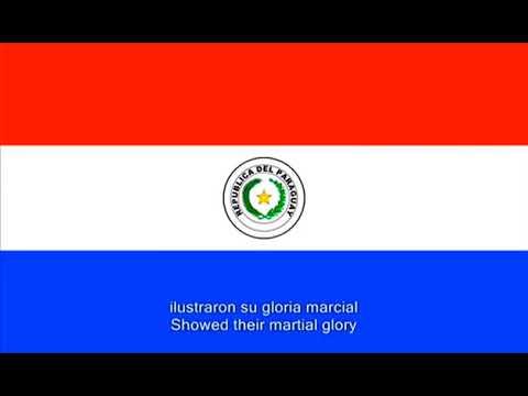 Paraguayos, República o Muerte - National Anthem of Paraguay (English/Spanish lyrics)