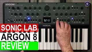Sonic LAB: Modal Electronics Argon 8 Wavetable Synthesizer