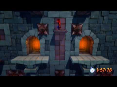 Crash Bandicoot N. Sane Trilogy: Stormy Ascent (Time Trial - Platinum Relic)