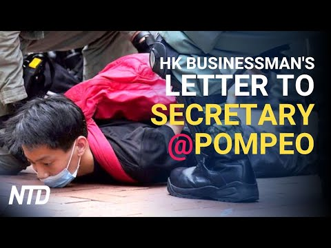 Hong Kong Businessman's Letter to Pompeo: Save Our Children | NTD