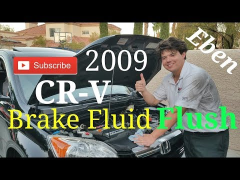 2009 Honda CR-V AMSOIL Brake Fluid Flush & Bleeding