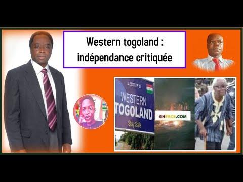 Western togoland : indépendance critiquée