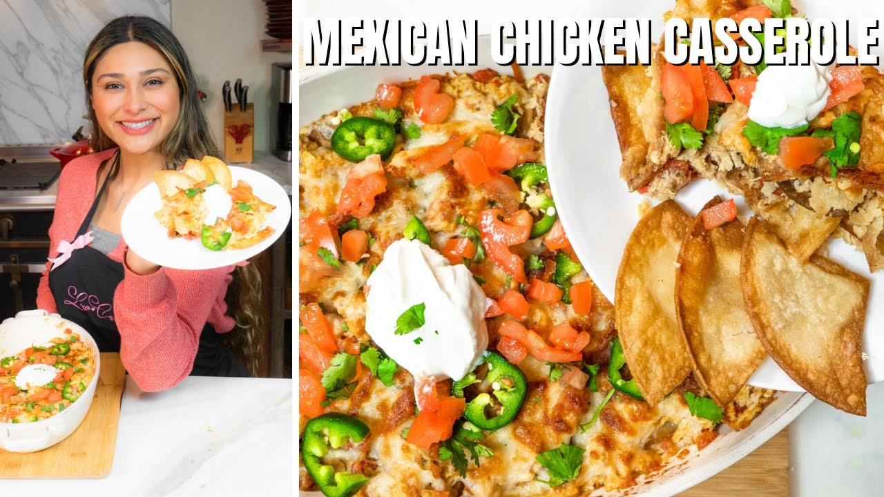 Keto Mexican Chicken Casserole! Easy Keto & Low Carb Chicken Casserole Recipe